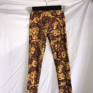 cookies leggings size L EUC